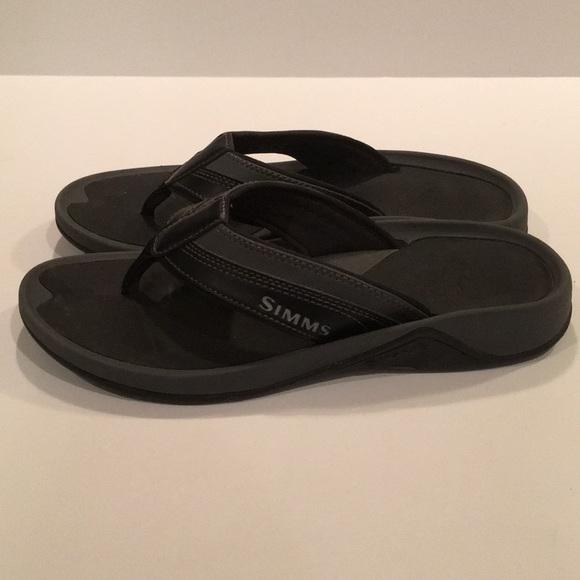 d661199ecd62 Simms Ebb Tide sandals (flip flops). Size 8. M 5b4bf90e81bbc8aae34dbd0e